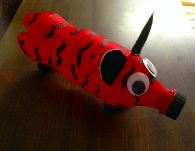 Animal Water Bottle Craft