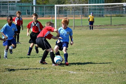 Soccer action shota