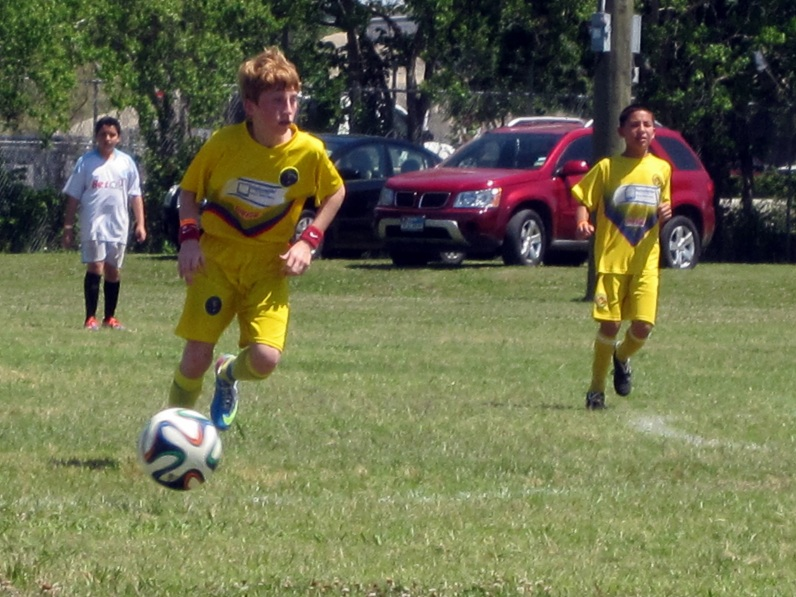 Tyler On the Go 5-3 Soccer Tourney2