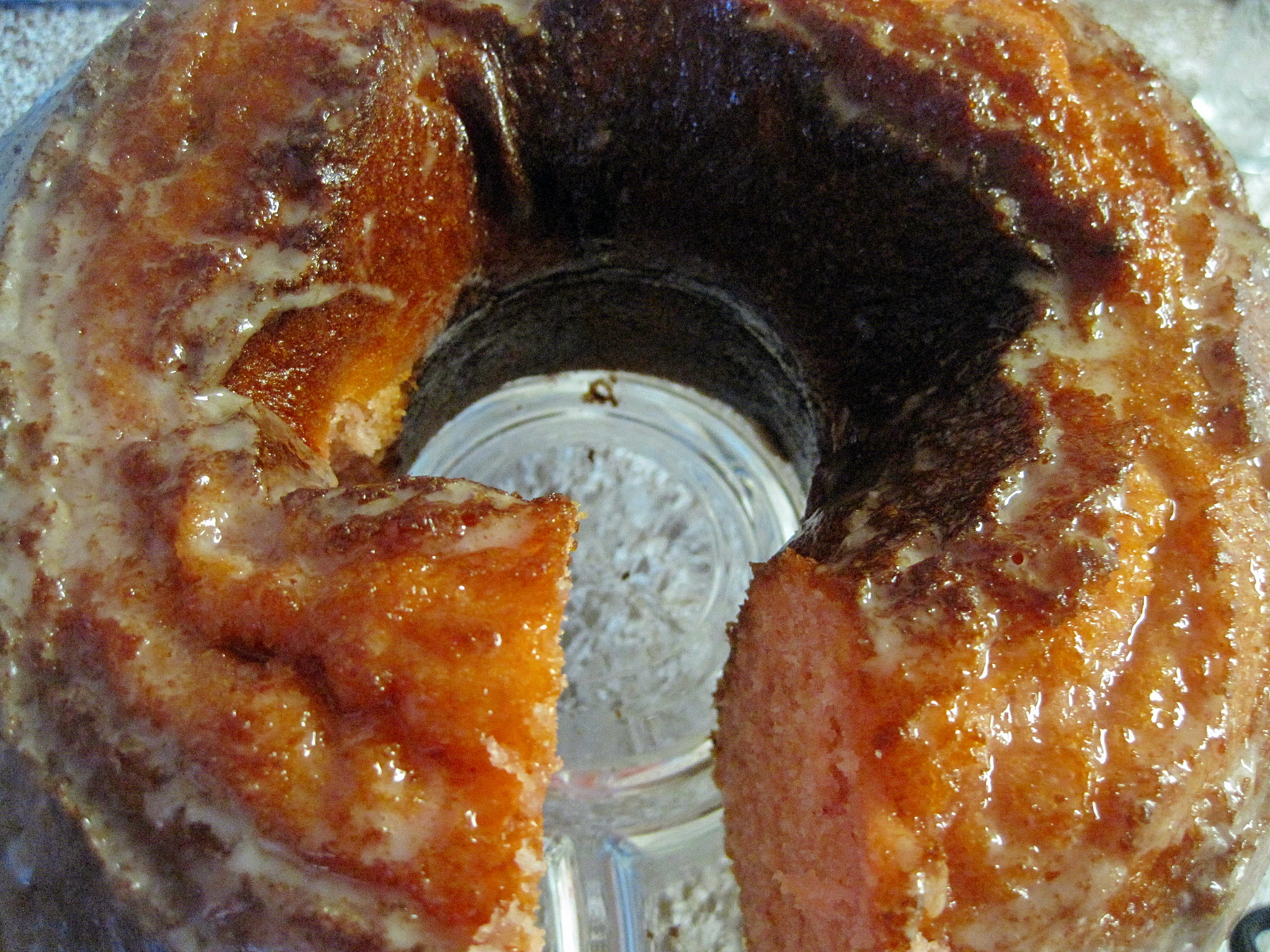 Strawberry Bundt Cake With Cream Cheese Glaze Arl S World
