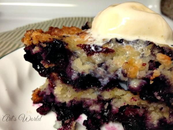 Easy Blueberry Cobbler | Arl's World