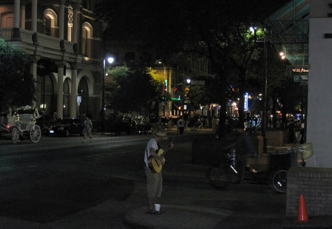 austin downtownl at nighta