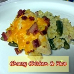 031cheesy chicken & rice