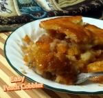 selma easy peach cobbler