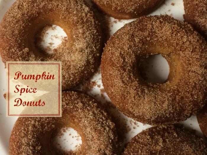 015.pumpkin spice donuts