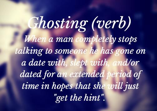 online dating ghosting