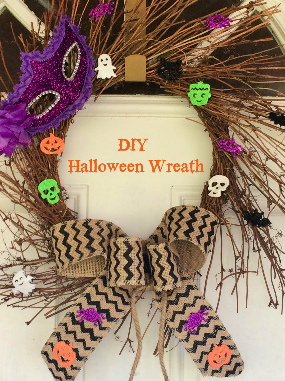 DIY Halloween wreath (1)